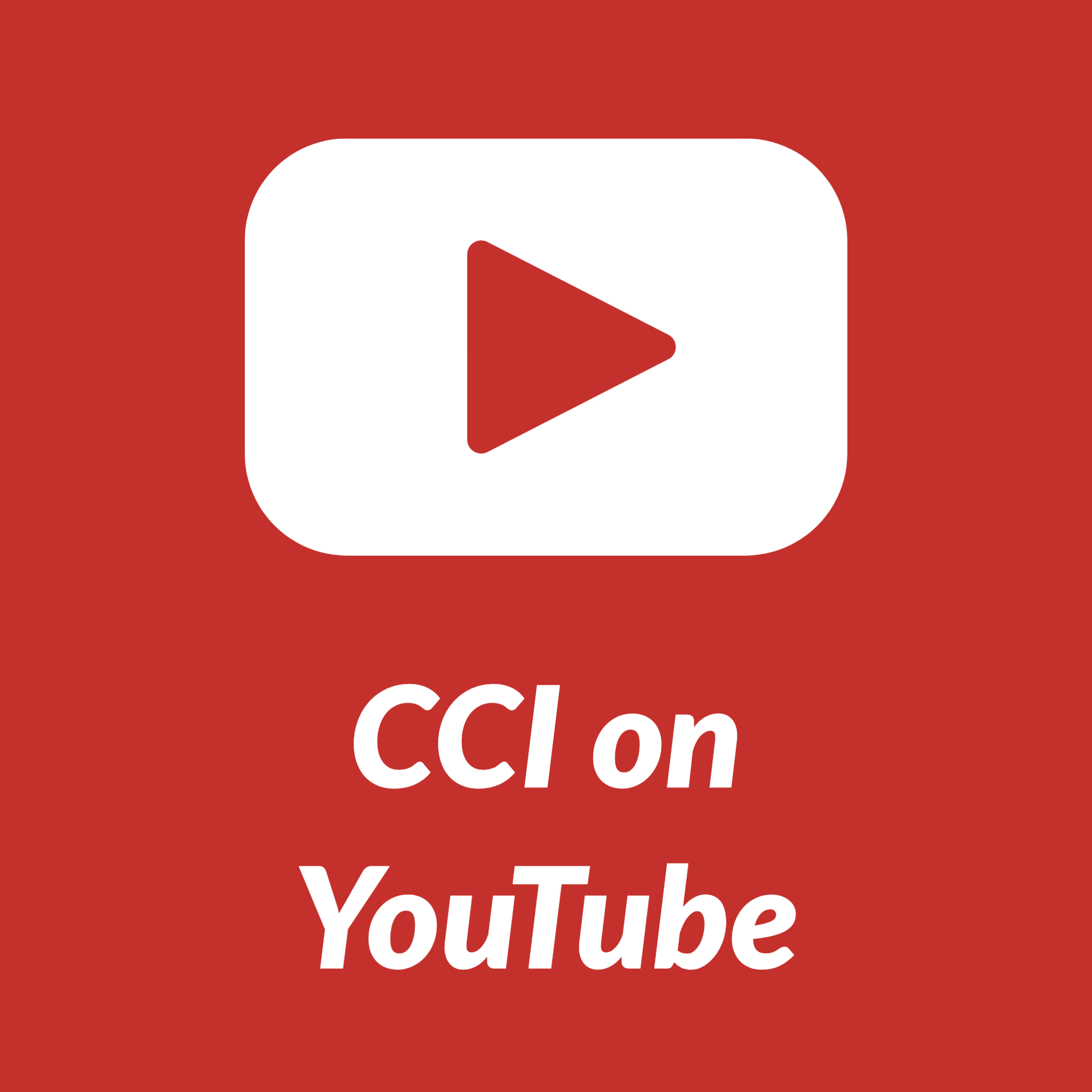 CCI on YouTube